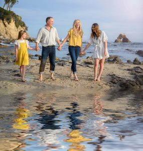 Family Portrait Photographer Laguna Beach Orange County